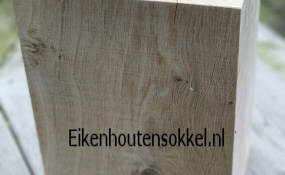 eiken pilaar tuin kopen? Eikenhoutensokkel.nl   Unieke eiken sokkels ...